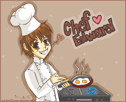 Twilight :: Chef Edward by sasukee23loveeer