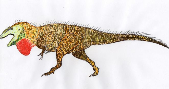 Acrocanthosaurus atokensis by Brutonyx