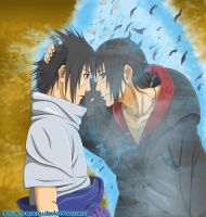 Sasuke and Itachi by Chuyuchu