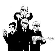 Guys in Black by murader191