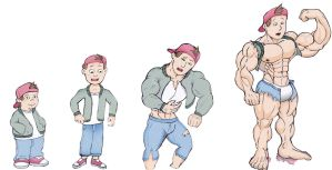 Tj-detweiler Muscle Growth by Salvador503