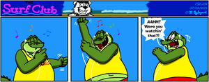 The Surf Club Comic 256 by BluebottleFlyer