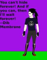 Dib as a Vampire: For Hattress by Insanity-C