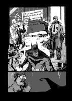 Batman Black and White page 01 by StephaneRoux