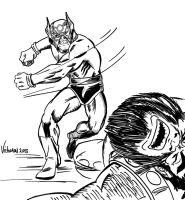 ORION of the NEW GODS sketch by victomon