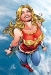 Wondergirl_Colorart. by Troianocomics
