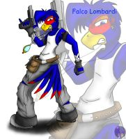 Falco Lombardi by MidNight-Vixen