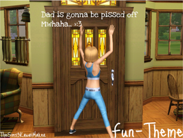Fun-Theme by TheSims3KawaiiMaker