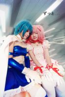 Madoka x Sayaka - Forever with you by nyaomeimei