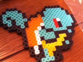 Squirtle Pokemon bead sprite by Pokekid6
