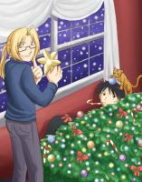 FMA: Christmas Tumble by TheMadWoman-Ellie