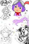 Musketeer doodles by 1WEI