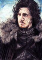 Jon Snow by AileonArts