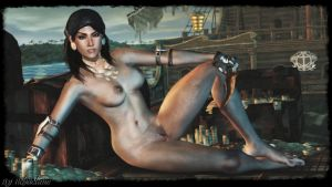 Dragon Age - Sexy Isabela wallpaper by ethaclane