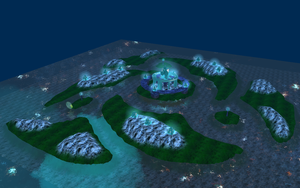 Neon Islands - WIP by Monarth