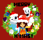 Merry Undertale by guerreic