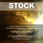 Astral origin STOCK by ladyrapid