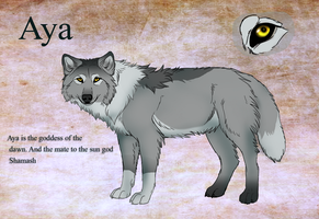 Aya ref by TheMysticWolf
