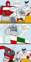 Autobots and V-Day by Comics-in-Disguise