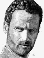 Andrew Lincoln from The Walking Dead by ronmonroe