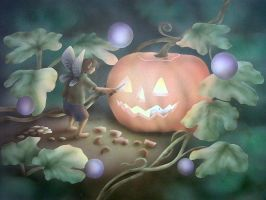 Happy Halloween by gillyfrog