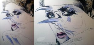 WIP 2 - The Evil Queen by visualwings