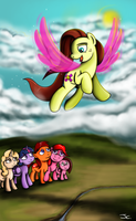 Fanart - MLP. We will always remember you by jamescorck