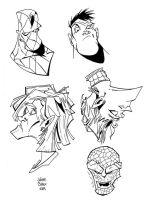 Francisco's Faces by tygertailzz