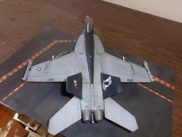 weathered Revell super hornet 003 by Deamand