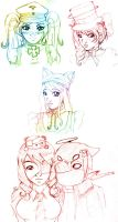 Gaia Doodles 2 by killedmyhopes