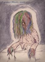 Abandoned Monster sketch by dcf