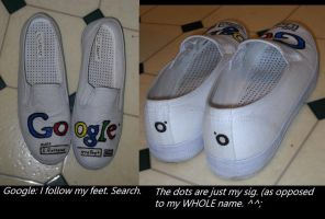Google: I follow my feet. by LSD-Dreams