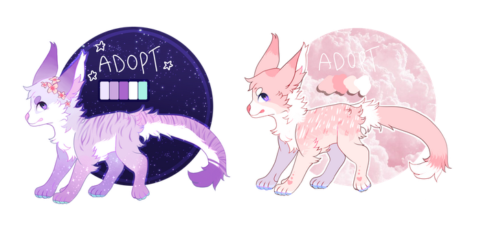 Adopts - closed by Pumpkin-adopts