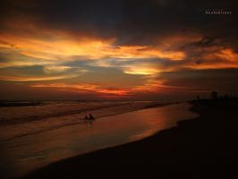 sunset on nuevo altata beach 8 by noohohIcant