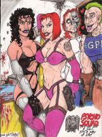 Psycho Squad babes by Crash2014