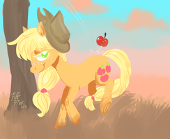 Sunshine n' Celery Stalks by PuffPink