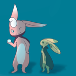 PMD D NPCs- The Teacher and The Student by shinysentret