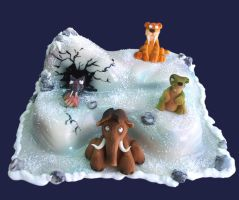 ice age-cake2 by azsammaiski