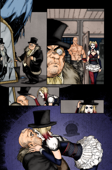 Batman Arkham Issue 6 Page 10 by Blackmoonrose13