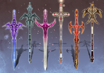 (OPEN 4/6) - Weapon Adoptable Set #004 by Timothy-Henri