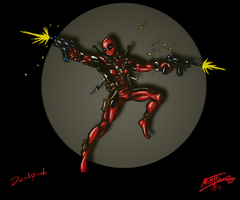 Deadpool by cheddarpaladin