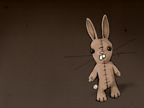 Mr. McBunbun wallpaper by RaggedyAnarchist