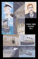 RMS TITANIC Sketch cards by phymns