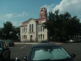 Lampasas Courthouse by Ironhold