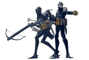 Warforged Soldiers by michaelharris