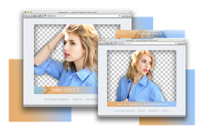 Pack Png 911 // Emma Roberts. by ExoticPngs
