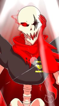 Underfell Papyrus by Meow101XD