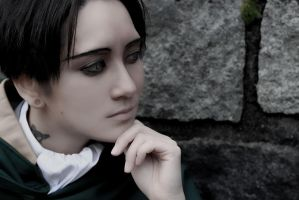 SnK Cosplay - Rivaille/Levi - Profile Shot 002 by VenTsun