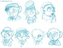 The Baker Street Irregulars by tranimation-art