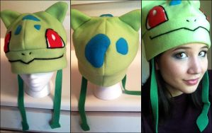 Commission: Bulbasaur Hat by shiro-co